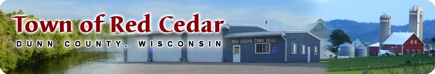 Town of Red Cedar Wisconsin